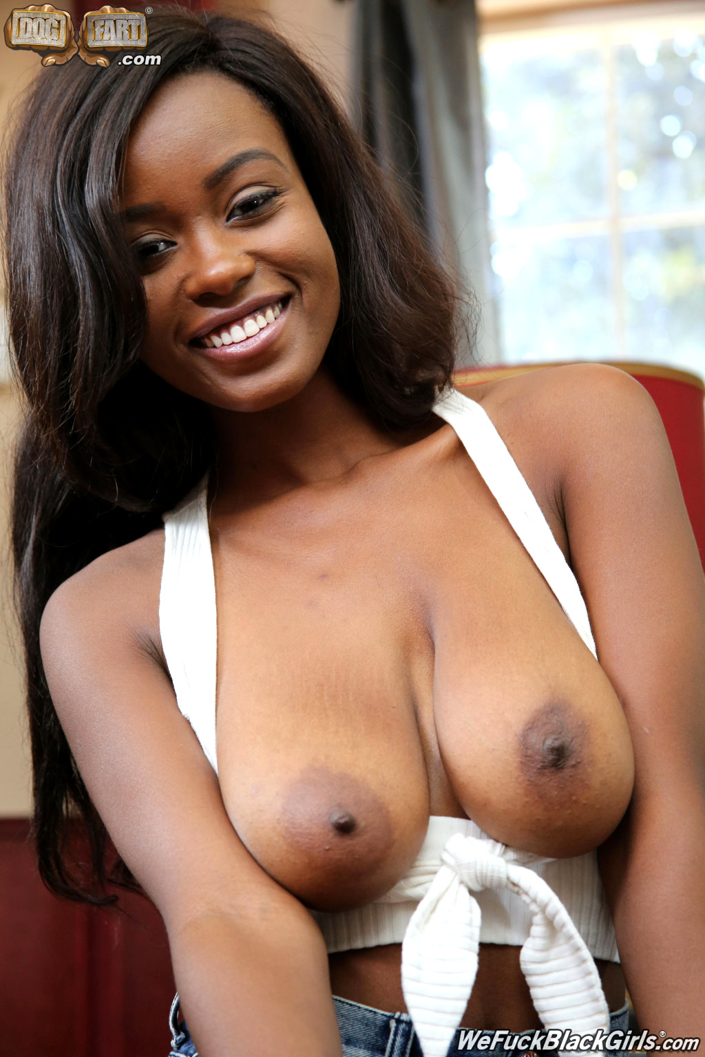 black chick titty fuck