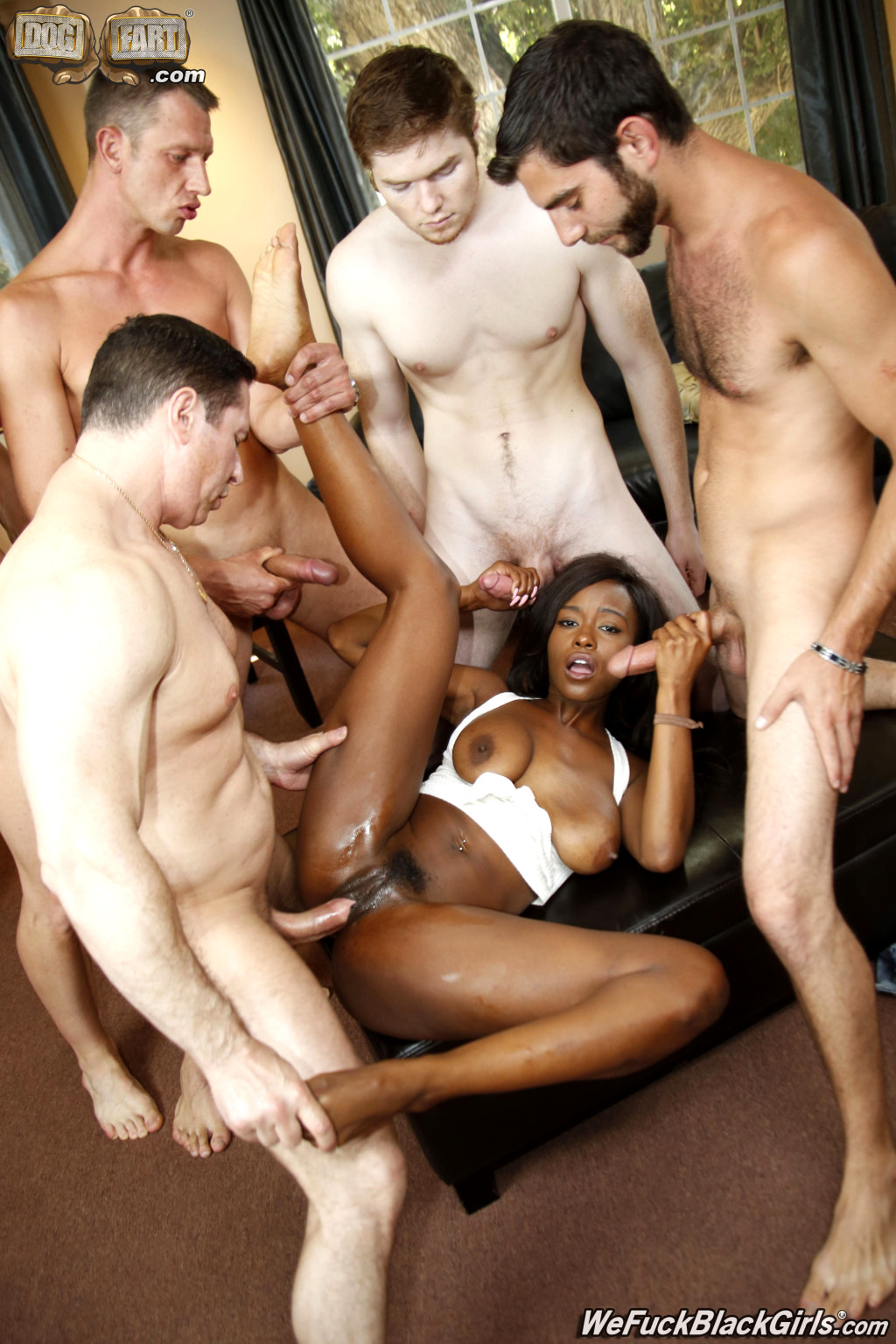 Beautiful black girl anal-1991