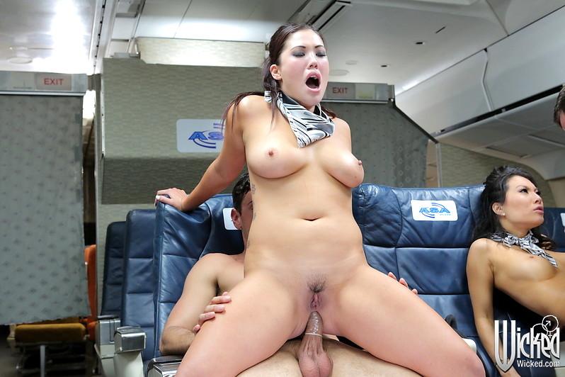 Asa akira stewardess