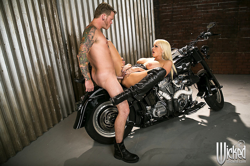 Fucked by bikers, teen porn video and