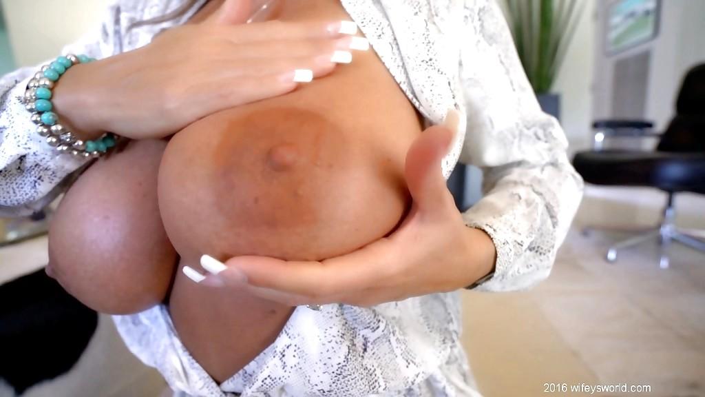Busty blonde housewife devon lee pierced pussy fucked 3