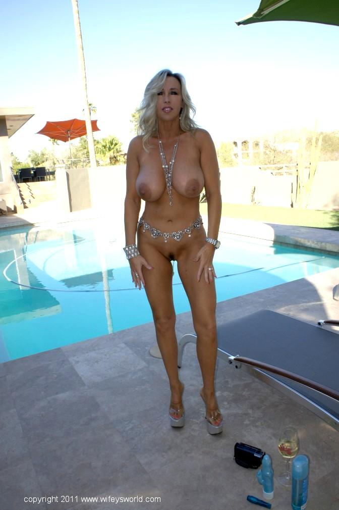 Busty blonde housewife devon lee pierced pussy fucked 6