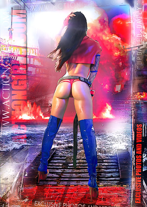 Actiongirls Actiongirls Model Super Hero Action Girls Pics Planet