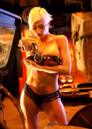Actiongirls Marie Claude Bourbonnais Funny Action Girls Oil Web