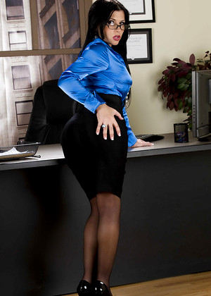 Bigtitsatwork Rebeca Linares Naughty Glasses Hotel