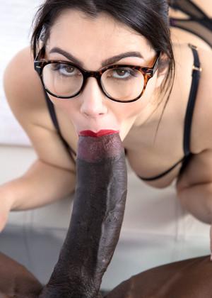 Girl using massive dildo
