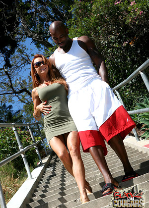 Blacksoncougars Janet Mason Hottest Interracial Pornmate