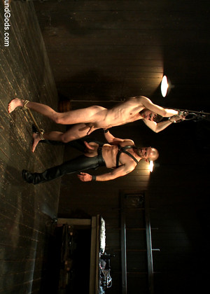 Boundgods Adam Herst Brandon Moore Exxxtra Leather Bdsm Honey