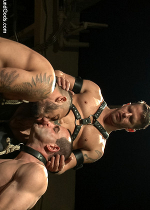 Boundgods Van Darkholme Jason Miller Alessio Romero Jeremy Stevens Exciting 4some Anal Basement