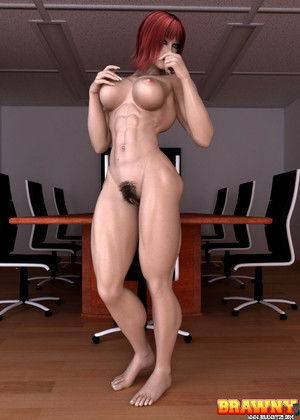 Brawny3d Brawny3d Model Full Muscled 3d Babes Porn Body