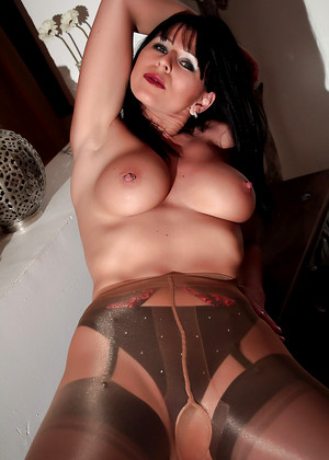 Desyrasnylonsex Desyra Noir Dedicated Nipples Category