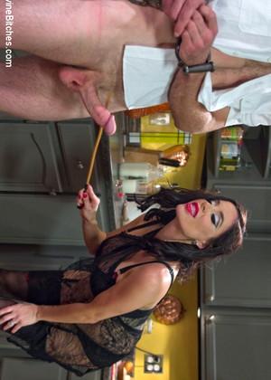 Goddess sara jay punishes red head slave lauren phillips 8