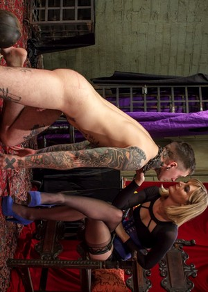 Merciless Dominatrix Mona Wales Punishes Tattooed Slave Teens Love Huge Cocks 1