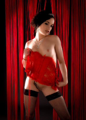 Expliciteart Penelope Weekly Red Lingerie Cinema
