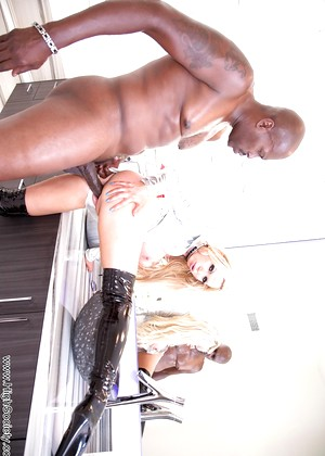 Highsociety Nikki Benz Funny Cowgirl Planet