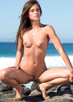 Little Caprice Naked On Beach YoungPornVideos 1