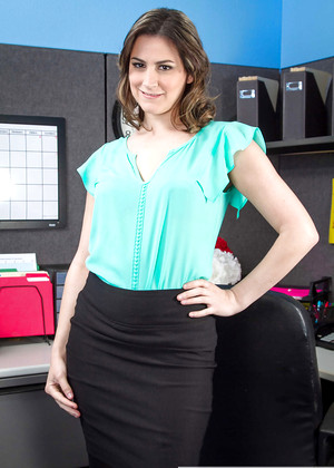 Naughtyoffice Addie Juniper Casual Upskirt Research