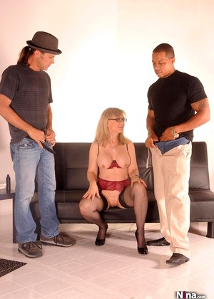 Nina Nina Hartley Ero Interracial Pornphoto