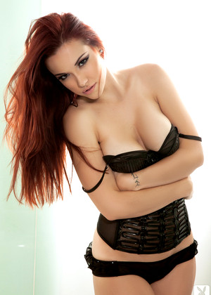 Playboycyberclub Elizabeth Marxs Common Redhead Session