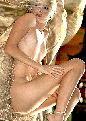 Enticing Blonde Erin Urban Seductively Poses In Luxurious Holed 1