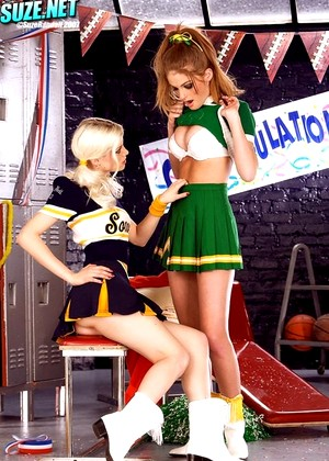 Suze Charlotte Stokely Faye Reagan First Class Cheerleaders Sex Vod