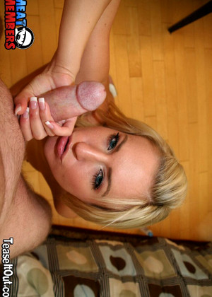 Teaseitout Victoria White Coolest Sexy Blonde Blowjob Pin Pics
