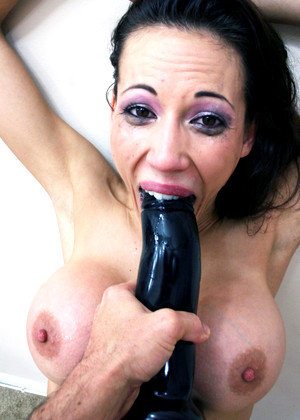 Throated Throated Model Lovely Forced Series