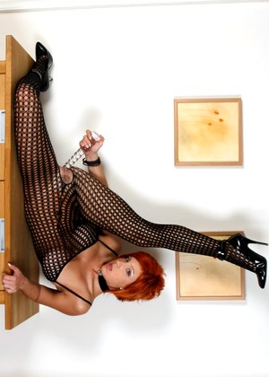 Twistys Ashley Robbins Exciting Fishnets Clubhouse