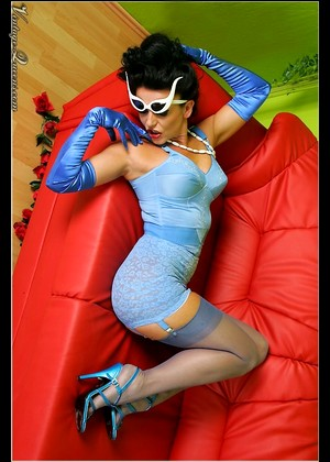 Vintagequeens Eve Model Eve Massive Retro Nylon Model Book