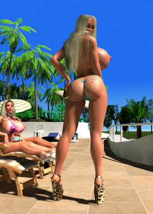 Wonderfulkatiemorgan Wonderfulkatiemorgan Model Free 3d Cartoons Theme